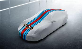 "Indoor-Car-Cover ""Martini Racing Design"" - mit und ohne Aerotkit Turbo"