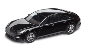 Panamera 4 G2, deep black metallic, 1:43
