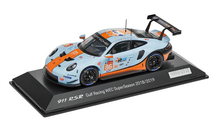 Limited Edition 1:43 Model Car | 911 RSR 2018 Gulf Racing