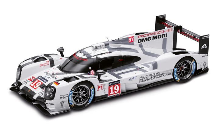 919 ハイブリッド ダイキャスト No. 19、 ル・マン優勝車、 1:18