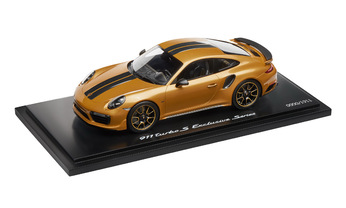 911 Turbo S Exclusive Series – Limited Edition; goldgelbmetallic; 1:18