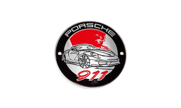 Grill badge – 911 Collection – limited edition - Home