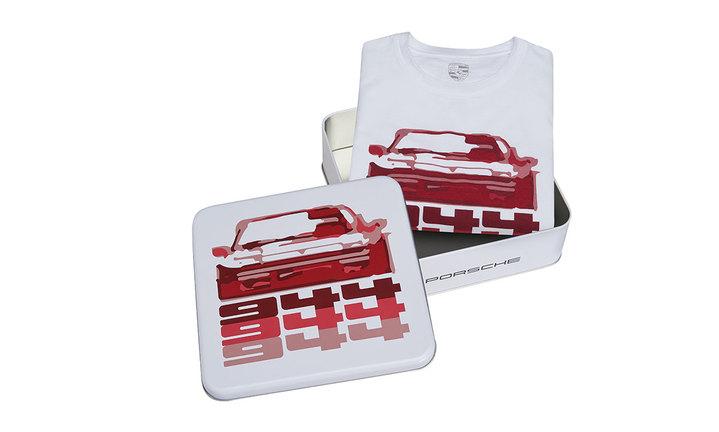 Collectible Tin Unisex T Shirt | Porsche 944