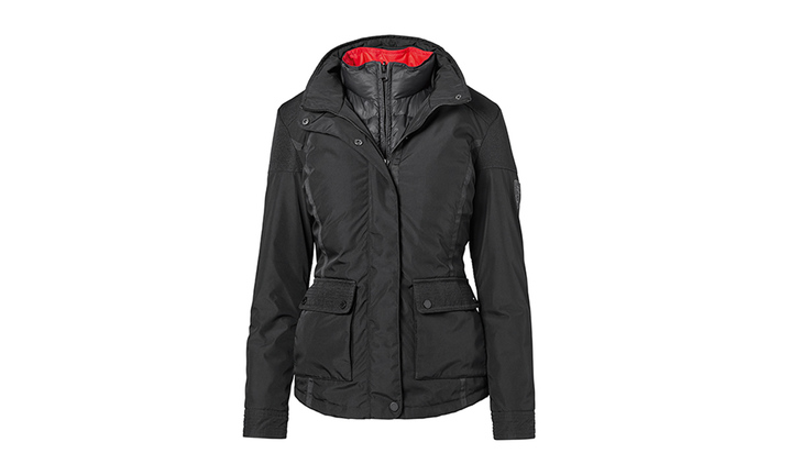 sale retailer d35b1 1c661 2 in 1 Jacket, Women, black/red - Jackets - For Her ...