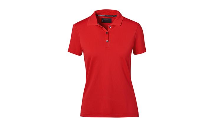 Porsche Textiles Ladies' Polo in Red