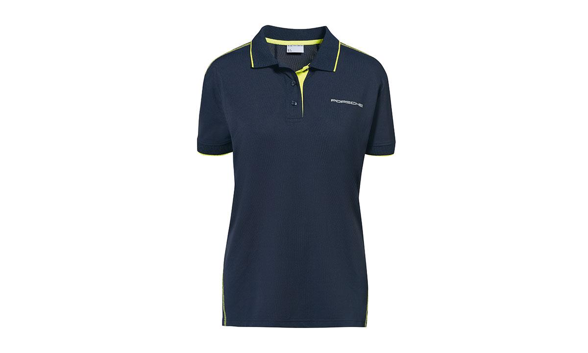 Womens Polo Shirt Dark Blue Sport New To The Shop Home