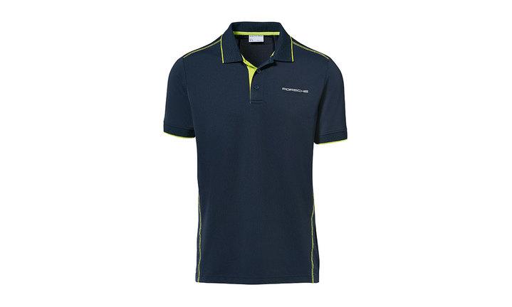 Men's polo shirt, dark blue – Sport