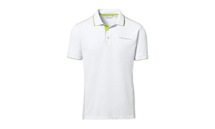 Men's Sport Polo Shirt in White