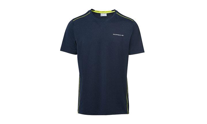 Men's T-shirt, dark blue – Sport
