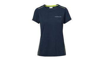 Women's T-shirt, dark blue – Sport