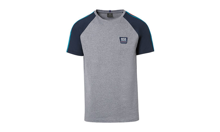 Martini Racing Men's T Shirt in Grey