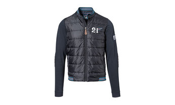 Men's fabric-mix sweat jacket – MARTINI RACING