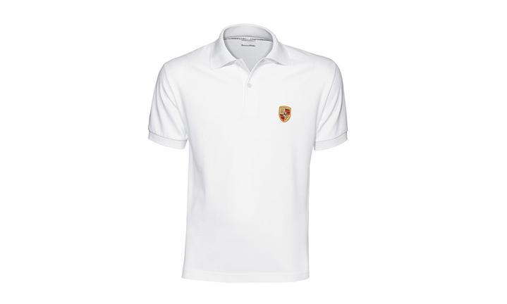 ポルシェ クレストポロシャツ