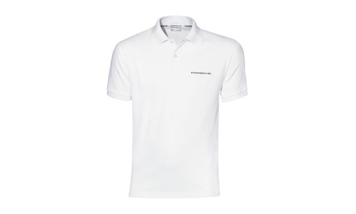 size 40 e0302 fa749 Polo-Shirt, weiss - Poloshirts - Herren - Porsche Driver's ...