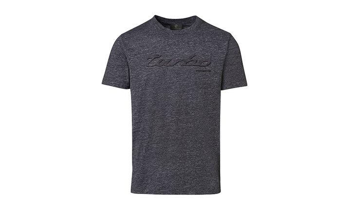 Porsche Men's Turbo T Shirt in Grey