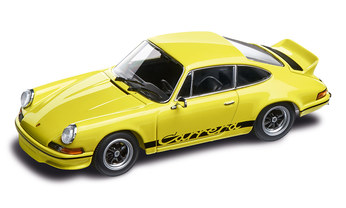Yellow 911 Carrera RS 2.7 1:43