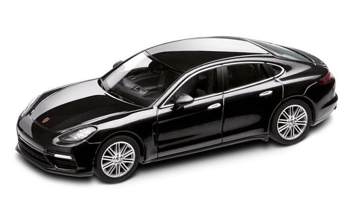 1:43 Model Car | Panamera Turbo in Volcano Grey Metallic