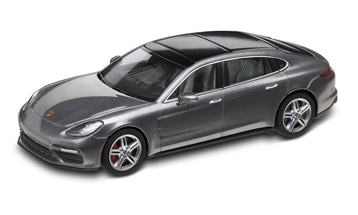 1:43 Model Car | Panamera Turbo Executive in Agate Grey Metallic