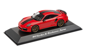 911 Turbo S, Exclusive Series, Indischrot, 1:43