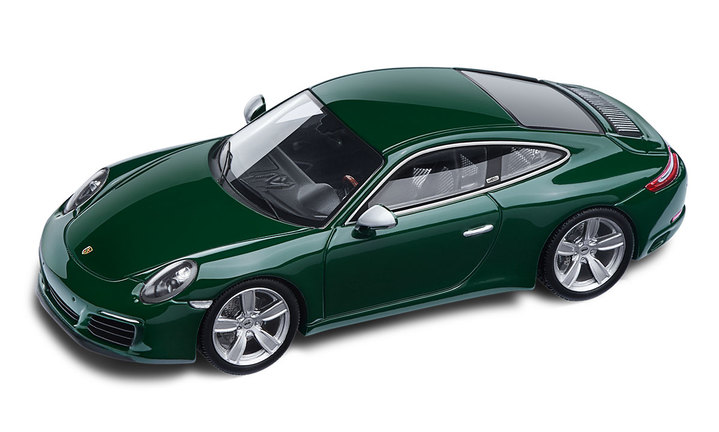 One-Millionth Porsche 911, Irish green 1:43