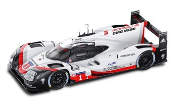 919 Hybrid, #1 Promo Version 2017, weiß, 1:43