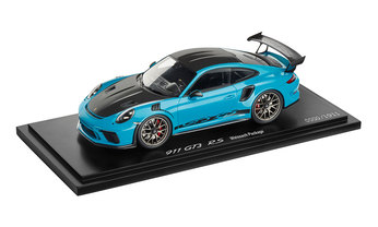 911 GT3 RS mit Weissach-Paket, 1:18, miamiblau, Limited Edition