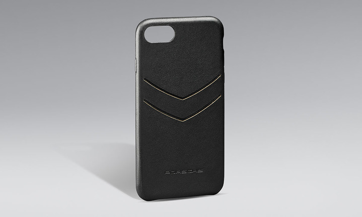 Snap-On Case leather iPhone 8