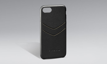 Snap-On Case Leder iPhone 8