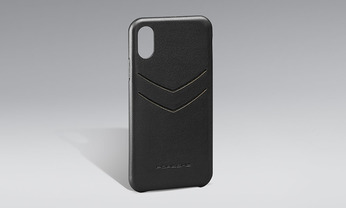 Snap-On Case Leder iPhone X / XS