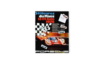 Magnetic board – 1970 racing poster
