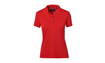 Porsche Textiles Ladies' Polo in Red