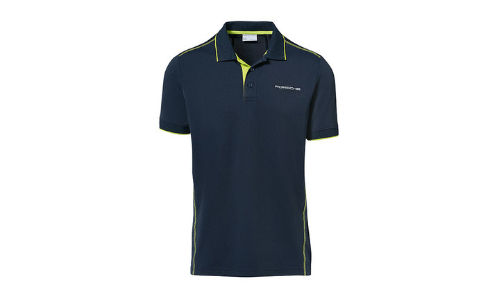 Men's polo shirt, dark blue – Sport
