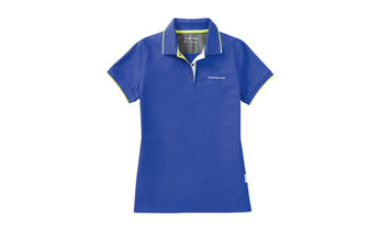 Ladies' Sport Polo Shirt in Aqua Blue
