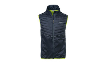 Men's Sport Padded Vest in Navy Blue