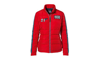 Martini Racing Ladies' Quilted Jacket in Guards Red