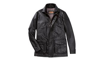 Men's leather jacket – Classic