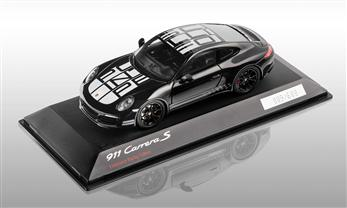911 (991 II) Carrera S Endurance Racing Edition, schwarz, 1:43