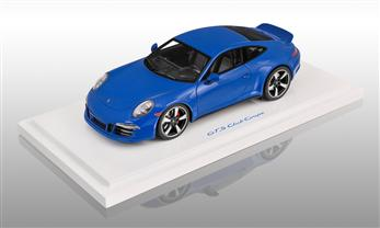 911 GTS Club Coupe, club blue, 1:18