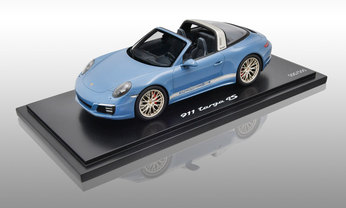 911 Targa 4S - Exclusive Design Edition, aetnablau, 1:18