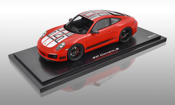 911 (991 II) Carrera S Endurance Racing Edition, indischrot, 1:18