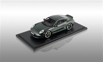 911 (991) Club Coupe, brewstergreen, 1:18