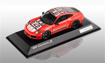 911 (991 II) Carrera S Endurance Racing Edition, indischrot, 1:43