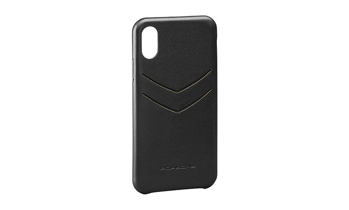 Leather snap-on case for iPhone® XR