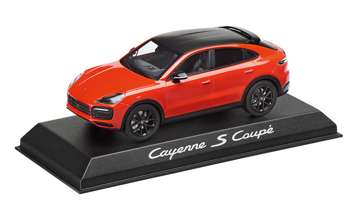 Cayenne Coupé S with Sports Package, 1:43