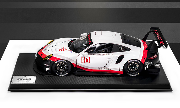 911 RSR, White/Black/Red, 1:8