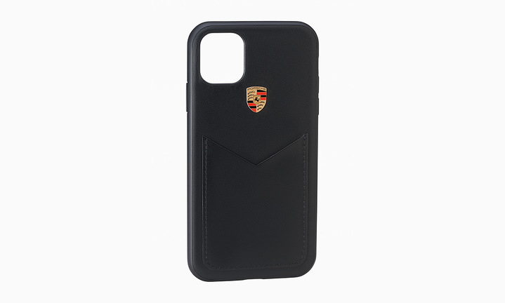Snap On Case Leather, iPhone 11