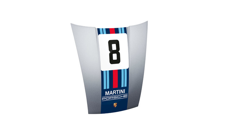 911 Front Hood No.4, Martini Racing with Lollipop