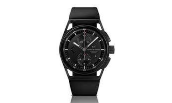 Porsche Design Sport Chronograph, Black & Leather