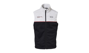 Motorsports Collection, Replica, Vest, Unisex, black/white