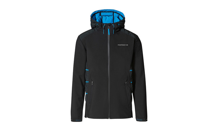 Taycan Collection, Men's Black and Blue Jacket Taycan